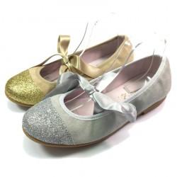 Bailarina Glitter y Ante - Zapatinos