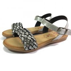 Sandalia Trenza Glitter - Valeria's
