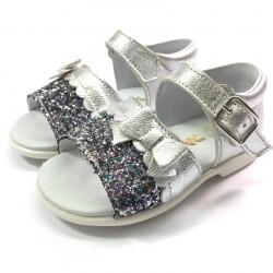 Sandalia Metal Glitter - Dardos
