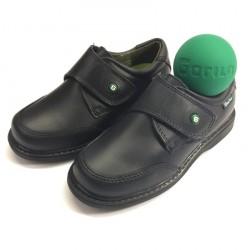 Zapato Colegio con Velcro y Puntera - Gorila