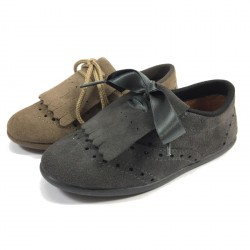 Zapato Inglés Serraje con Flecos - Chuches