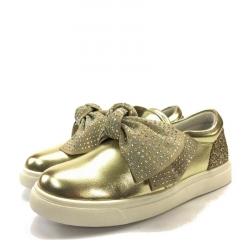 Sneaker Metalizada Strass - Oca Loca