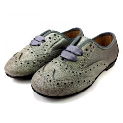 Zapato Ante Brillo - Zapy